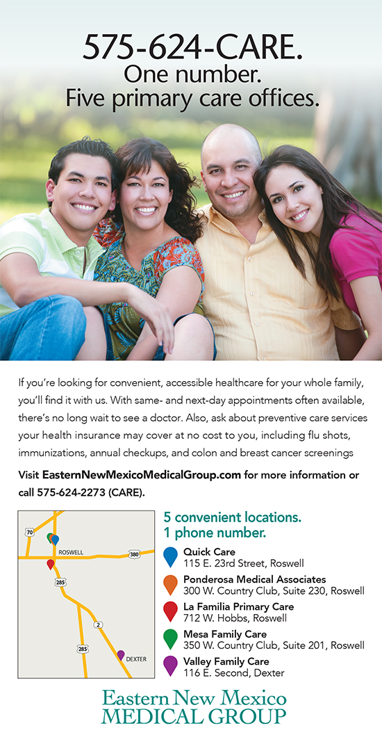 Primary Care flyer